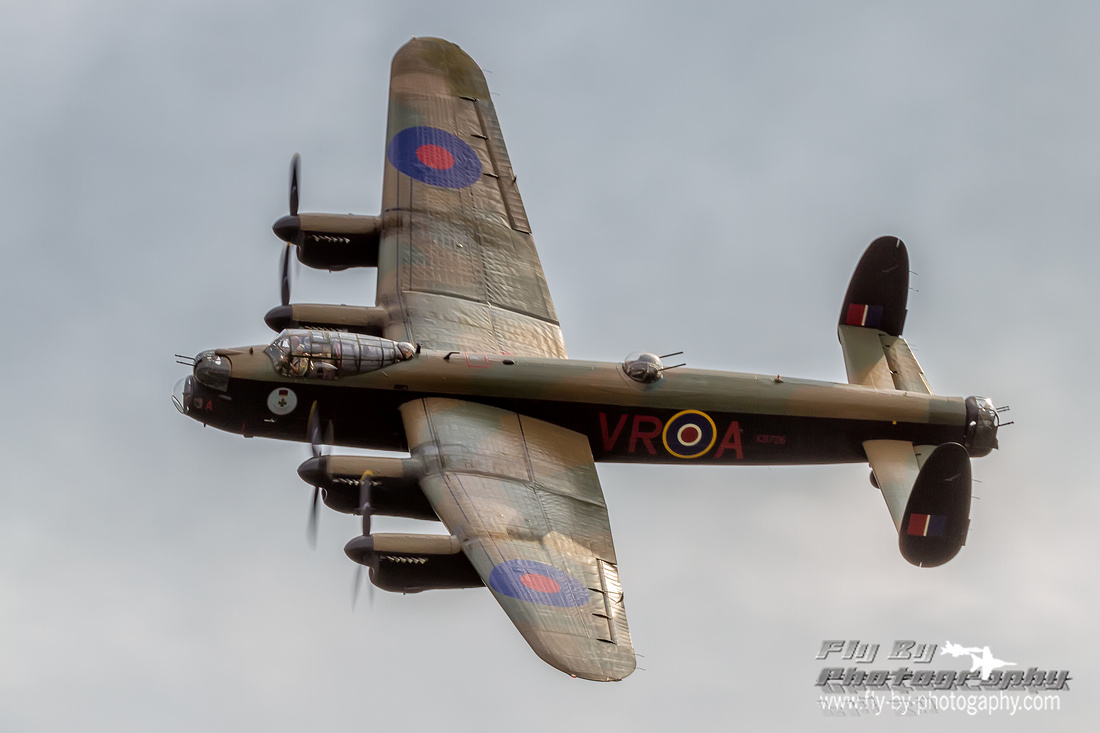 This is only one of two Avro Lancasters still flying today.