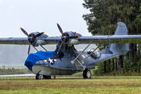 PBY-5A Catalina getting a shower.