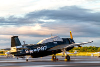 The Commemorative Air Force, Capital Wing's TBM Avenger on the Manassas ramp getting ready for a day at the airshow.