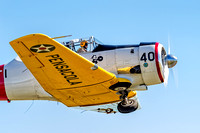 Kevin Russo In His SNJ-6 Texan