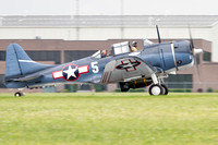 The Commemorative Air Force's SBD-5 Dauntless.