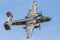 "Named in honor of aviation pioneer Major General William ""Billy"" Mitchell, the B-25 Mitchell was nicknamed Billy's Bomber."