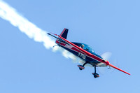 Charlie Schwenker performs in his Extra 300.