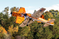 The Marks, Mark Sorenson and Mark Nowosielski of Tiger Airshows perform a maneuver they call the Butterfly.