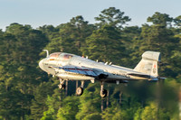 "A VMAQT-1 ""Banshees"" EA-6B Prowler launches out of MCAS Cherry Point."