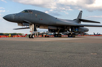 Star Of Abilene II, a B-1 Lancer assigned to the 28th Bomb Squadron on display at Thunder Over Dover.