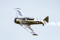 Bill Leff's T-6 at Air Power Over Hampton Roads