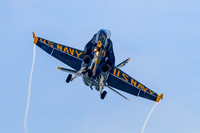 Blue Angels 6 Landing at NAS Oceana