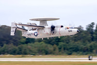 E-2 Hawkeye, typically referred to as the Hummer because of the sound it makes.