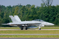 F-18F Super Hornet assigned to VFA-211 Fighting Checkmates, call-sign Nickel.