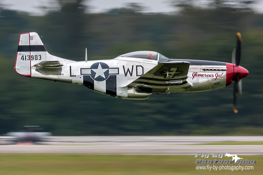 P-51 Mustang and Snort Snodgrass.