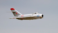 Randy Ball's Mig-17 at Air Power Over Hampton Roads