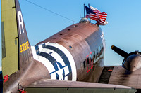 The National Warplane Museum's Douglas C-47 Skytrain.