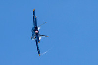 Blue Angels 3 using asymmetric thrust to manuver.