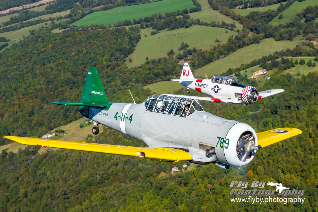 Texans over the Virginia foothills.