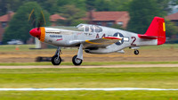 Commemorative Air Force P-51C Mustang, Tuskegee Airmen.