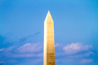 This is the Washington Monument photographed from over one and a half miles away.
