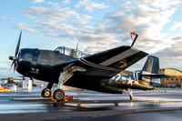 The Commemorative Air Force, Capital Wing's TBM Avenger at Manassas Airport for the airshow.